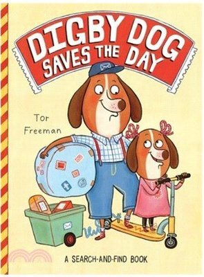*小P書樂園* Digby Dog Saves the Day (平裝本)