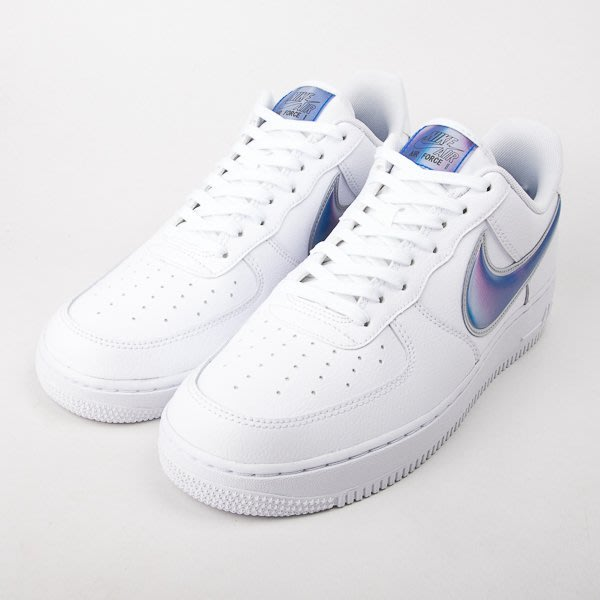 NIKE  Air Force 1 07 LV8 3-白/藍 籃球鞋 AO2441-101  現貨