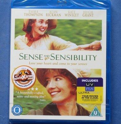 理性與感性Sense and Sensibility全新歐洲進口藍光BD 中文字幕 艾瑪湯普遜、凱特溫絲蕾