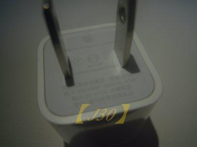 【J30 】全新 APPLE 原廠旅充頭 小綠點 iPhone5 5s 6 iphone6 plus 16g均可用#UE 台中市