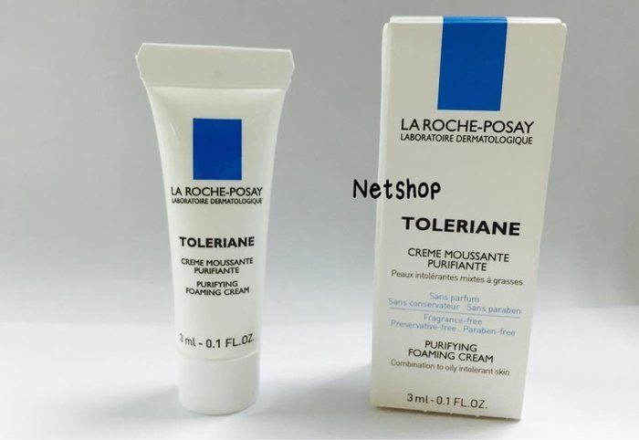 NETSHOP 理膚寶水 多容安泡沫洗面乳 3ml/瓶~公司貨  [包裝品滿六百免運] 效期2019/03