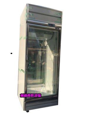 《利通餐飲設備》(瑞興)600L 雙門冷藏展示冰箱(前後可開) 2門冷藏冰箱.小菜櫥.展式冰箱 飲料冰箱