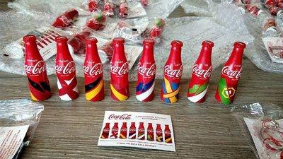 YUMO家  2016歐洲盃  法國款國家隊 可口可樂迷你鋁瓶 8款一套  現貨