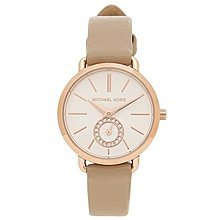 【換日線】女錶 Michael Kors Petite Portia White Dial Dress Ladies Watch MK2752