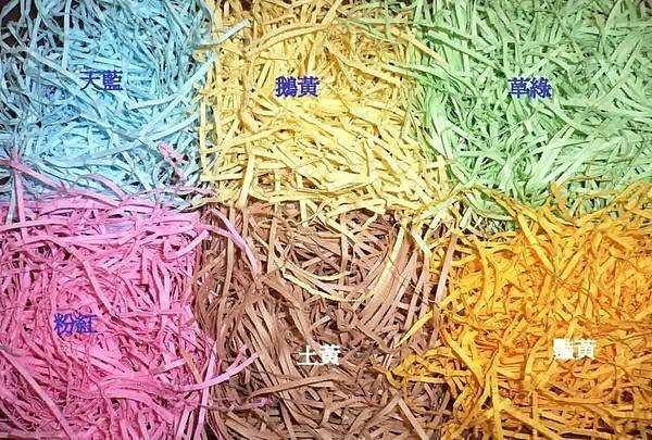 6色縐摺紙絲50g~蓬鬆佳用量省/包裝資材用品/填充禮盒襯底/婚禮小物/二次進場/聖誕節/情人節/很便宜/畢業禮物/裝飾