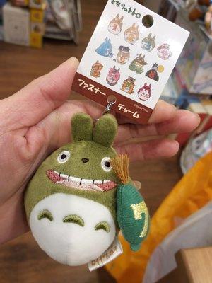 原裝 日本 宮崎駿 系列 Totoro 龍貓 月份 表達 公仔吊飾 拉鏈扣 生日公仔 吊墜 7月份 July