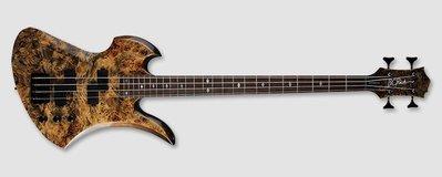 ☺『俠客樂器』B.C.Rich Mockingbird Bass 黑色幽靈 印尼廠 電吉他
