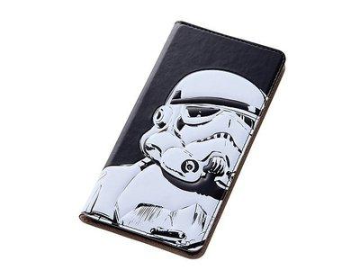 尼德斯Nydus~* 日本 星際大戰 STAR WARS 白兵 翻頁式 手機殼 Sony Z3 座充對應ok