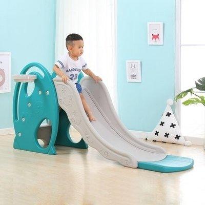 溜滑梯 兒童滑滑梯 室內家用蕩秋千 多功能組合小型折疊塑料小孩子寶寶滑梯