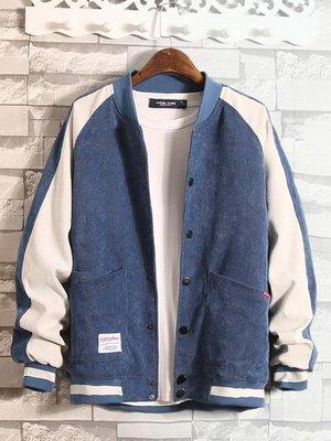 【蘑菇小隊】牛仔衣男士冬季新款韓版外套牛仔夾克秋冬男生潮流帥氣棒球衣服秋裝-MG57999