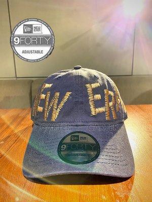 New Era Hand Stitches 9Forty Navy 手工車縫深藍色鴨舌帽
