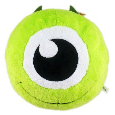 【卡漫迷】 怪獸大學 暖手枕 小圓 30CM 二款選一 ㊣版 毛怪 大眼仔 Mike Sully 絨毛娃娃 抱枕 玩偶
