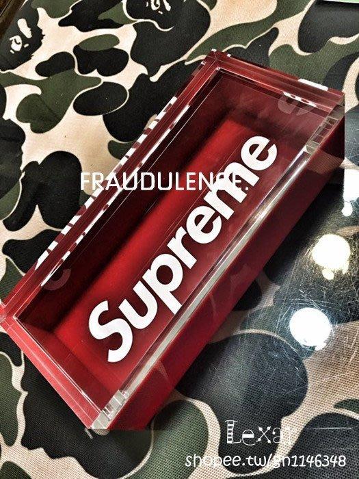 FW16 Supreme Lucite Box 有機玻璃收納盒 壓克力 收納盒