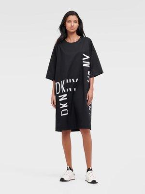 DKNY INVERTED LOGO T-SHIRT DRESS