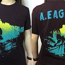 American Eagle AE現貨  美國老鷹 男 前後印花