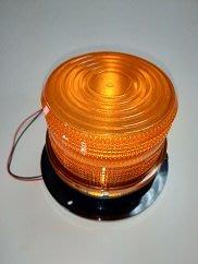 《軒廣》圓形警示燈(黃色) 電壓12V~ 60V