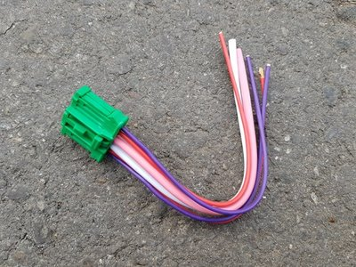 TIIDA.LIVINA.BLUEBIRD 07- 青鳥 風速電阻插頭(6PIN).風箱電阻.鼓風機電阻 台製全新品
