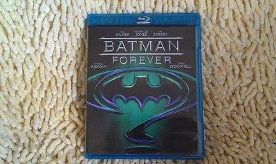 【李歐的二手洋片】近全新 蝙蝠俠3  BATMAN FOREVER 藍光 BD 下標就賣
