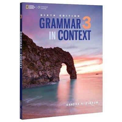 通過文章學語法3:學生書帶線上練習冊 英文原版 Grammar in Context 3: Student Book/O