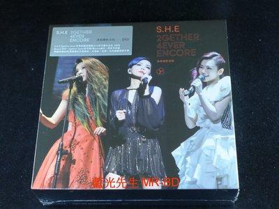 [DVD] - S.H.E 2014 2gether 4ever Encore 世界巡迴演唱會安可場台北站 三碟精裝版