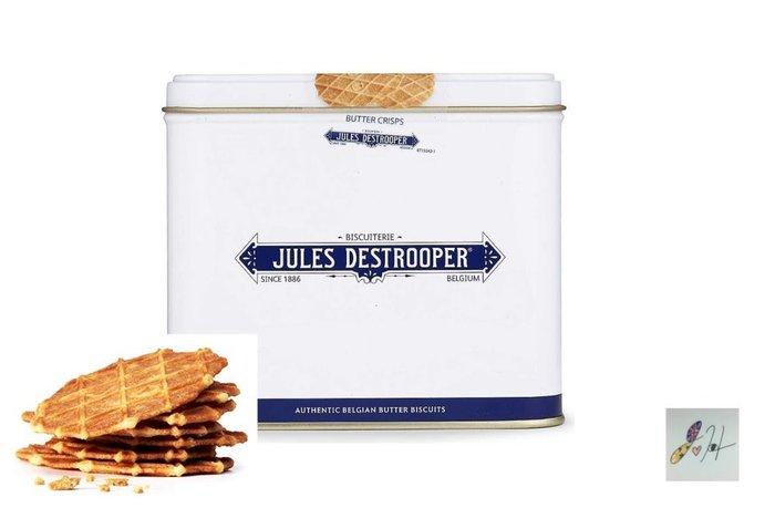 請先詢問[要預購] 英國代購 比利時JULES DESTROOPER 傳統餅乾 鐵盒裝奶油脆餅 233g