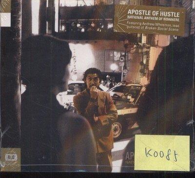 *真音樂*  APOSTLE OF HUSTLE / NATIONAL ANTHEM OF 全新 K0085 (159下標賣2)