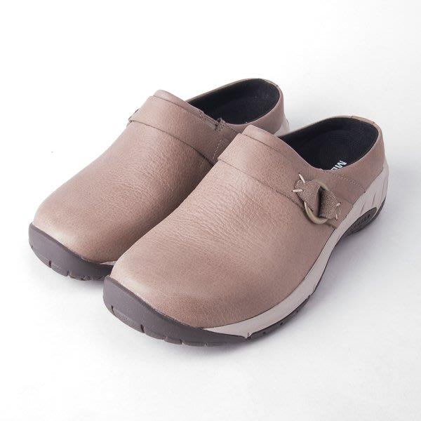 MERRELL 女款 半包 真皮休閒鞋-淺咖啡 ML000548  現貨