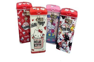 佳佳玩具 ------ 正版授權 Kitty 方形 KT 存錢筒 復古系列 附鎖 存錢罐【3015701-51】