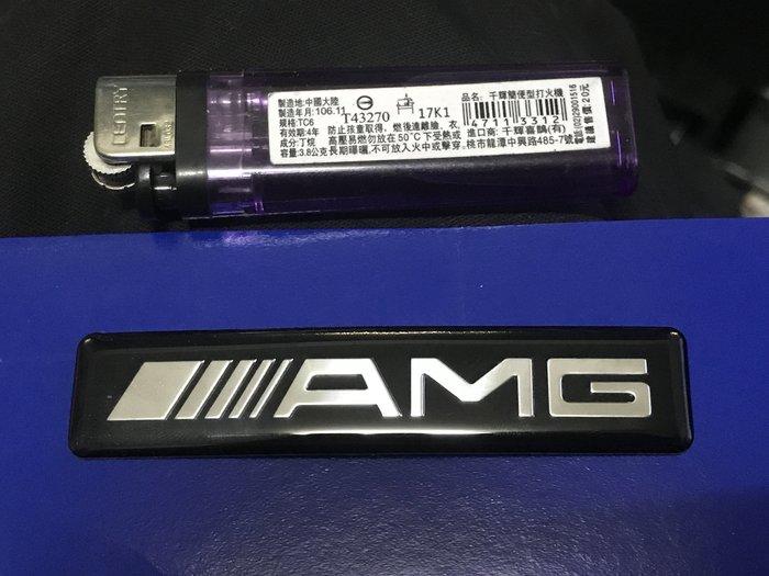 全新 AMG 貼紙 多買用不到 隨便賣 88MM*18MM*2MM