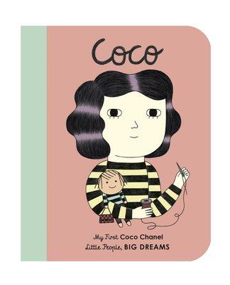 *小貝比的家*COCO CHANEL/MY FIRST LITTLE PEOPLE/硬頁/3~6歲