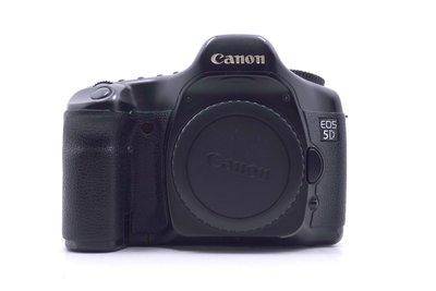 【台中青蘋果】Canon EOS 5D 單機身 二手 全片幅 單眼相機 #18094