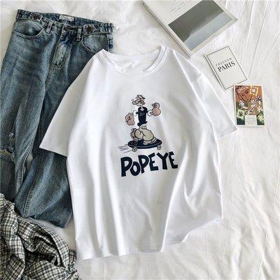 夏季女裝短袖T恤 新款夏裝韓版寬松白色短袖t恤女超火cec半袖體恤百搭ins上衣