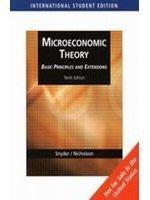 個體經濟學《Microeconomic Theory: Basic Principles and Extensions》