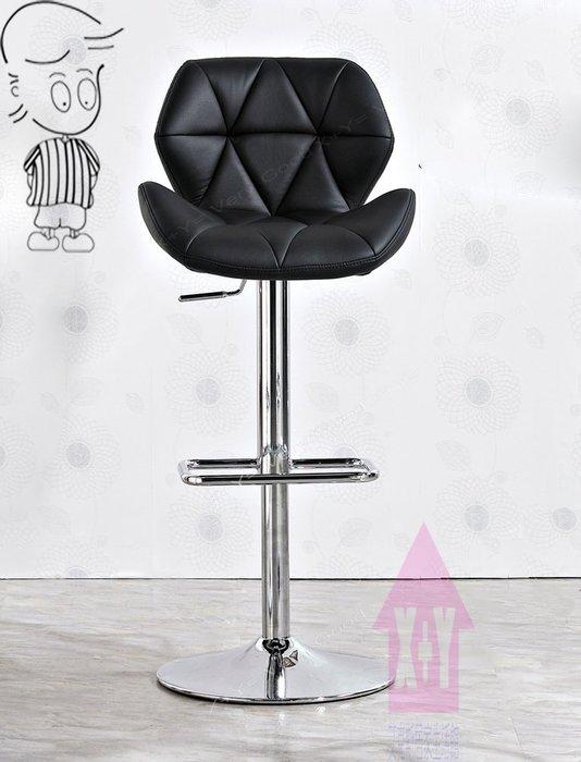 【X+Y時尚精品傢俱】現代吧檯椅系列-伊恩 黑色升降吧台椅.吧檯椅-線條簡潔脫俗.摩登家具