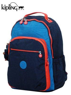 (買1送3)KIPLING 中性 運動時尚 輕量 防潑水 後背包 筆電包 K21305J45 背包