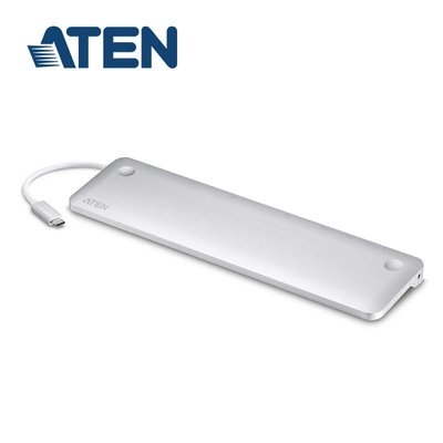 喬格電腦 ATEN UH3234 USB-C 10合1擴充基座