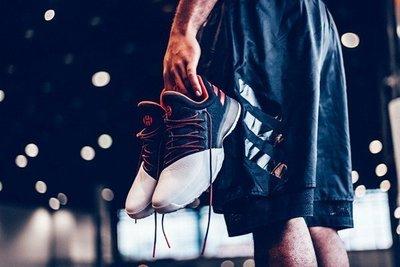 現貨 南 ◇ ADIDAS HARDEN VOl.1 哈登 白色 籃球鞋 BW0546 愛迪達 白黑紅色 初代 12號