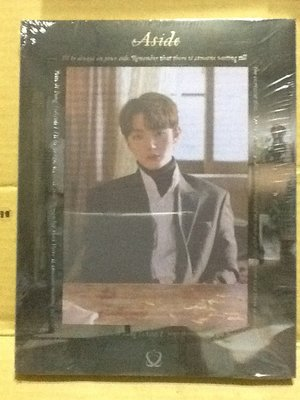 ~拉奇音樂~尹智聖 (WANNA ONE) 1ST MINI ALBUM:ASIDE首張迷你專輯:ASIDE 全新未拆封