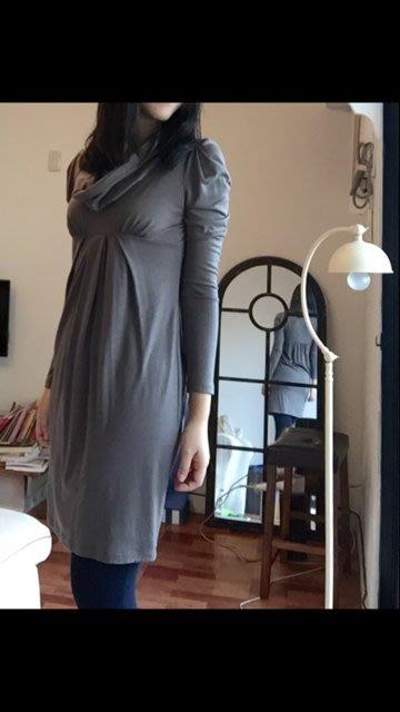 vanessa bruno 垂領公主袖羊毛洋裝