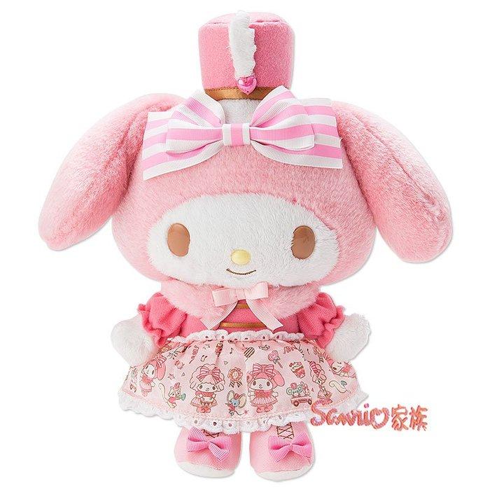 《東京家族》日本三麗鷗美樂蒂歡樂遊行系列絨毛玩偶公仔