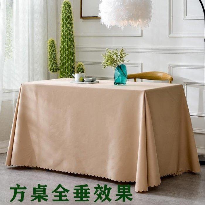 【免運】加厚純色酒店臺布飯店餐廳圓桌布會議桌布布藝活動餐桌布辦公桌布~『金色年華』