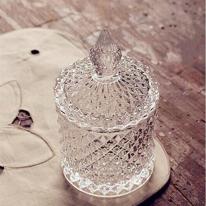 MAJPOINT-玻璃 收納罐 牙籤 棉花罐 糖罐 飾品收納罐 零食 零錢 雜物 ZAKKA雜貨 商品代購