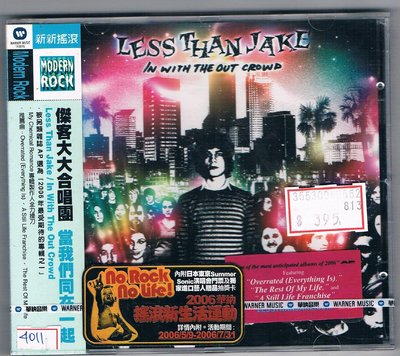 [鑫隆音樂]西洋CD-傑客大大合唱團 Less Than Jake:當我們同在一起 /全新/免競標
