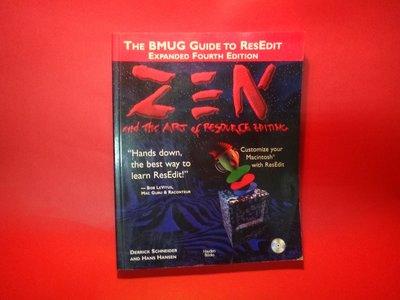 【愛悅二手書坊 01-24】Zen and the Art of Resource Editing(內附光碟)