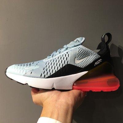 Nike WMNS Air Max 270 水藍 黑 桃紅 氣墊 慢跑鞋 女鞋 AH6789-400