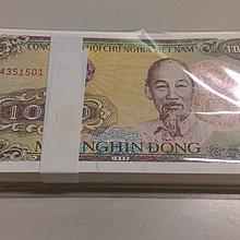 【流動郵幣世界】越南1988年1000盾100張連號