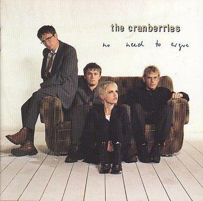 【樂購唱片】小紅莓合唱團THE CRANBERRIES~No Need To Argue~1994MADE IN USA~原版CD,英語
