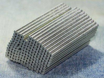 @磁鐵熊@釹鐵硼強力磁鐵-超強吸力-2mmx1mm-模型專用迷你磁鐵