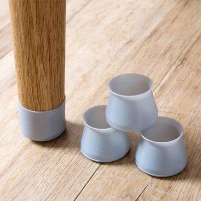 現貨 桌腳套(4入) 靜音墊 矽膠 沙發墊 防滑墊 桌椅 防水 防滑 靜音 椅子 櫃子 桌子 ❃彩虹小舖❃【N128】