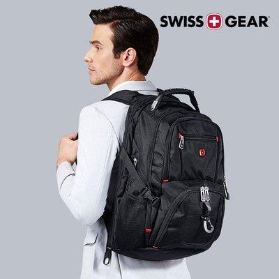 瑞士設計【SWISSGEAR SG-03】正品 瑞士軍刀品牌 雙肩包 防水 USB 旅行 後背包 筆電 電競 商務 禮物